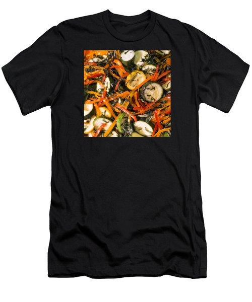 Zucchini Salad Men's T-Shirt (Athletic Fit)