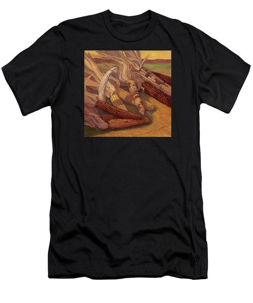 Zuni Corn Maiden Men's T-Shirt (Athletic Fit)