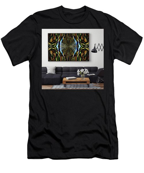 Abstract Caracause Men's T-Shirt (Athletic Fit)