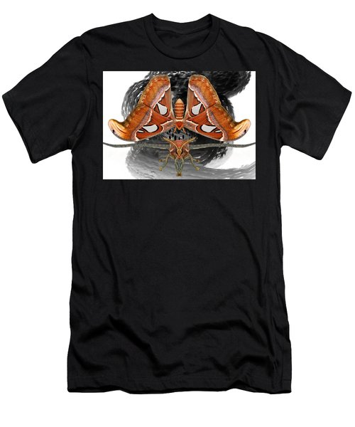 Atlas Moth7 Men's T-Shirt (Athletic Fit)