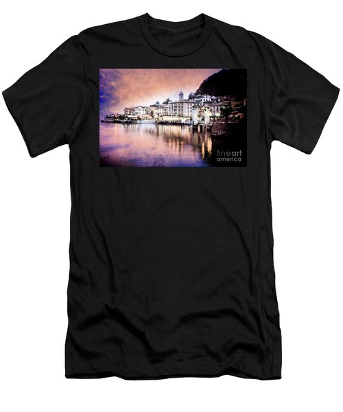 Men's T-Shirt (Athletic Fit) featuring the photograph Invitation To Bellagio by Scott Kemper