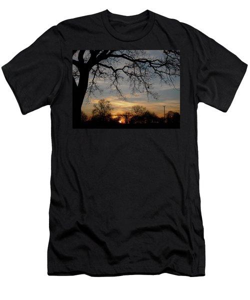 Evening Fades Away Men's T-Shirt (Athletic Fit)