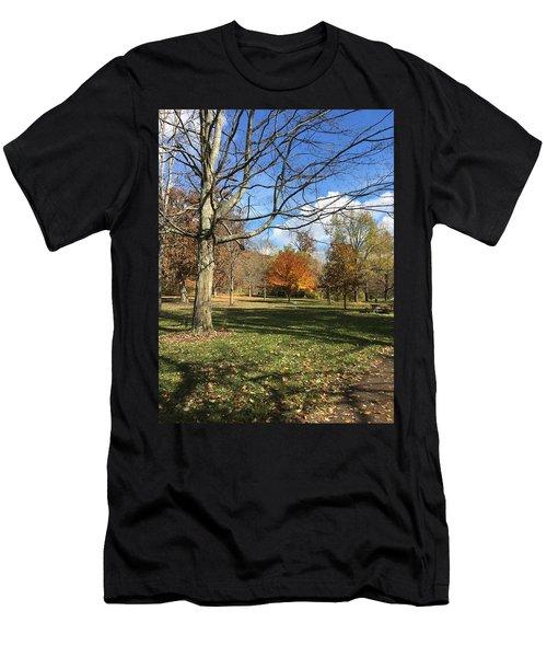 Fall Season  Men's T-Shirt (Athletic Fit)