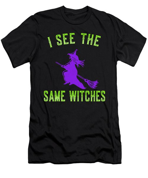 I See The Same Witches Men's T-Shirt (Athletic Fit)