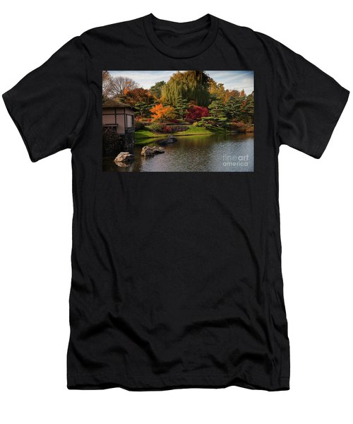 Japanese Gardens Men's T-Shirt (Athletic Fit)