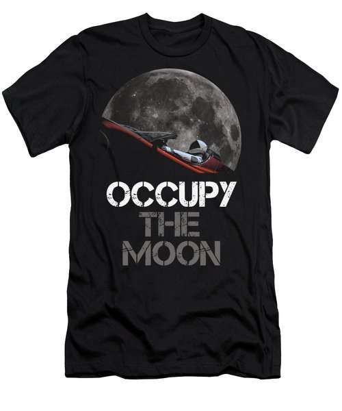 Occupy The Moon Men's T-Shirt (Athletic Fit)
