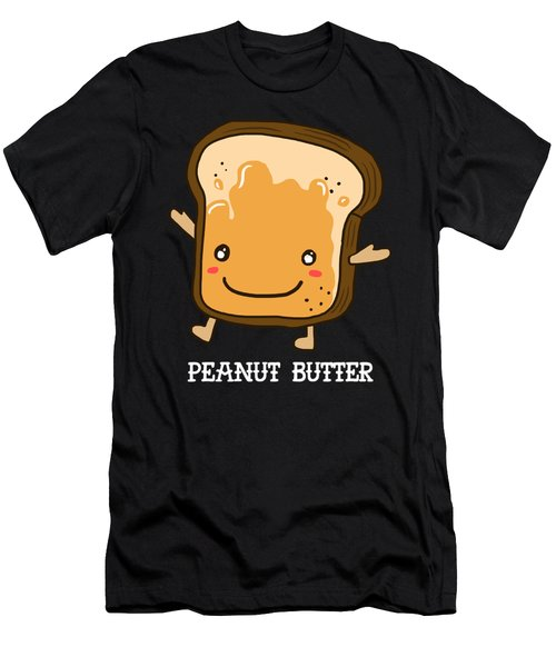 Peanut Butter Halloween Costume Funny Apparel Men's T-Shirt (Athletic Fit)