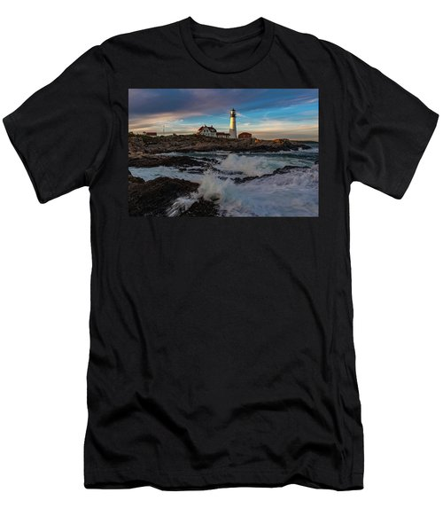 Portland Headlight Men's T-Shirt (Athletic Fit)