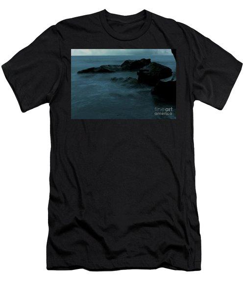 Smooth Worn Rocks Men's T-Shirt (Athletic Fit)