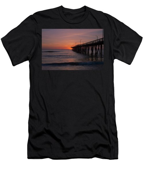Men's T-Shirt (Athletic Fit) featuring the photograph Virginia Sunrise by Pete Federico