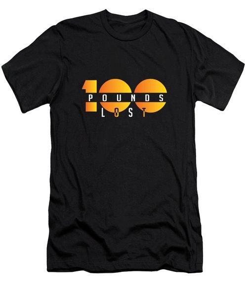 100 Pounds Lost Men's T-Shirt (Athletic Fit)