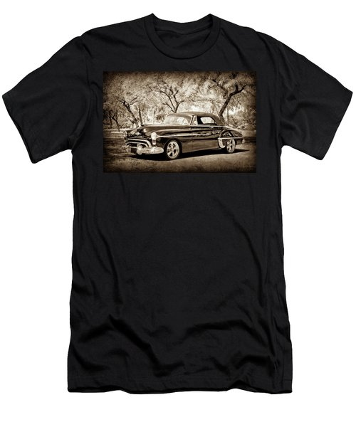 Men's T-Shirt (Athletic Fit) featuring the photograph 1950 Oldsmobile 88 -004s by Jill Reger