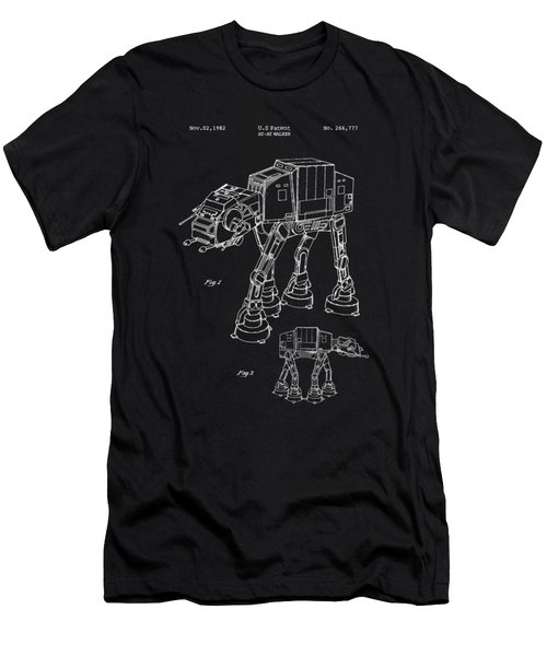 At-at Walker Men's T-Shirt (Athletic Fit)
