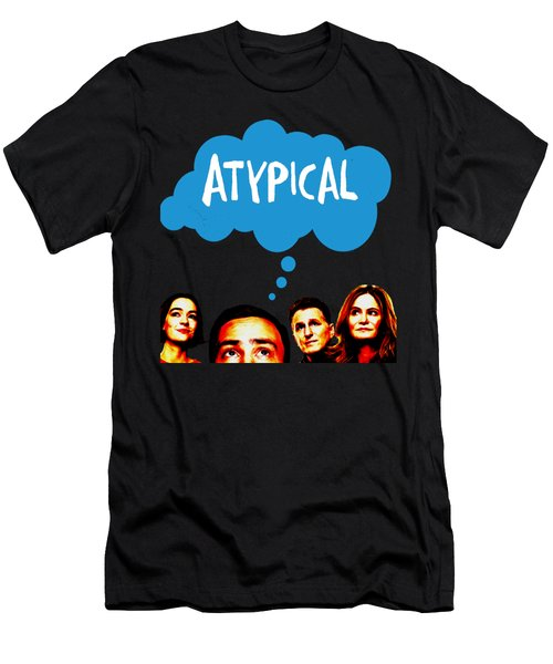 Atypical Men's T-Shirt (Athletic Fit)