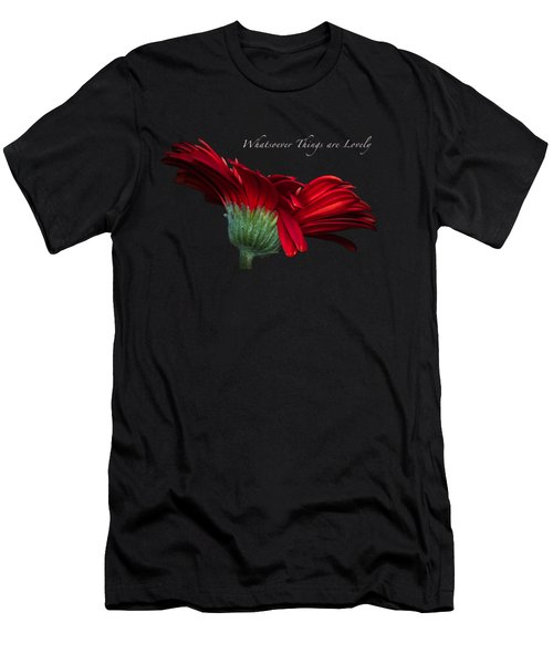 Whatsoever Things Are Lovely Men's T-Shirt (Athletic Fit)