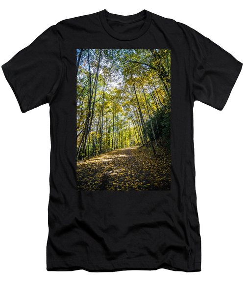 Men's T-Shirt (Athletic Fit) featuring the photograph Scenic Views Along Virginia Creeper Trail by Alex Grichenko
