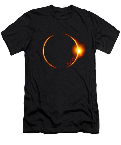 Solar Eclipse 2017 Men's T-Shirt (Athletic Fit)