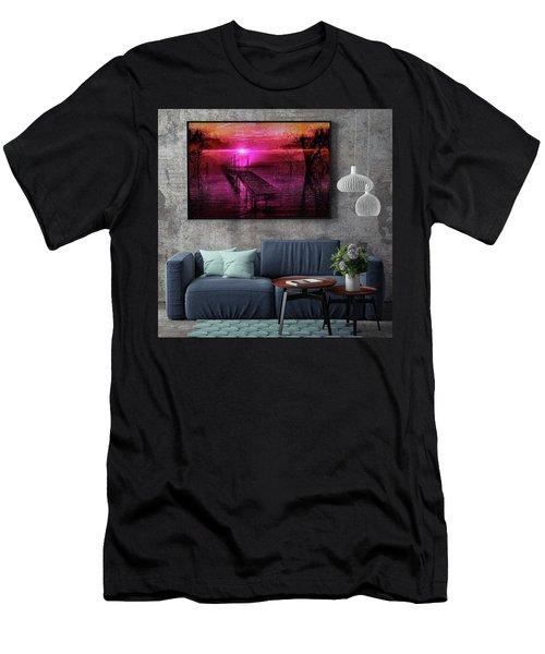 The Bridge Line Men's T-Shirt (Athletic Fit)