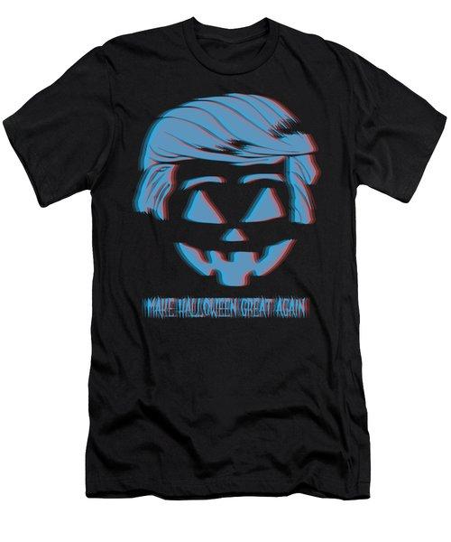 3d Trumpkin Make Halloween Great Again Men's T-Shirt (Athletic Fit)