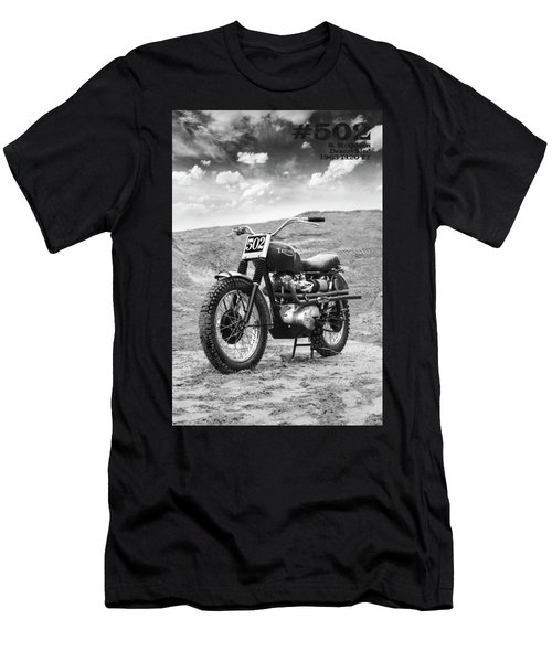 502 Mcqueen Desert Sled Men's T-Shirt (Athletic Fit)