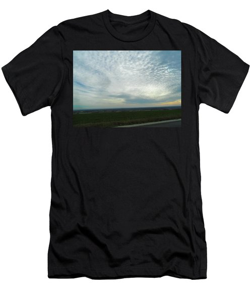 Colossal Country Clouds Men's T-Shirt (Athletic Fit)