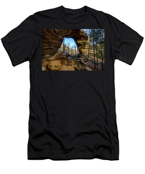 A Hole In Time Men's T-Shirt (Athletic Fit)