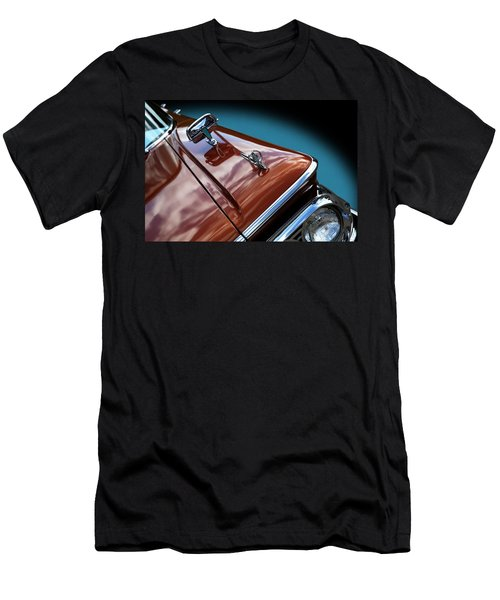 Men's T-Shirt (Athletic Fit) featuring the photograph A New Slant On An Old Vehicle - 1959 Edsel Corsair by Debi Dalio
