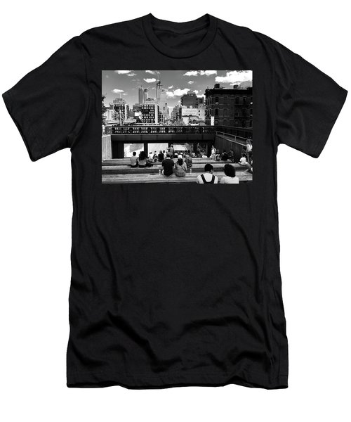 A Popular New York Theater At The Highline Men's T-Shirt (Athletic Fit)