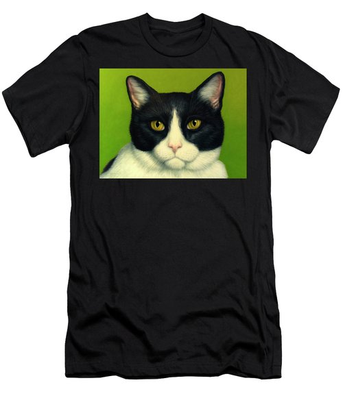 A Serious Cat Men's T-Shirt (Athletic Fit)