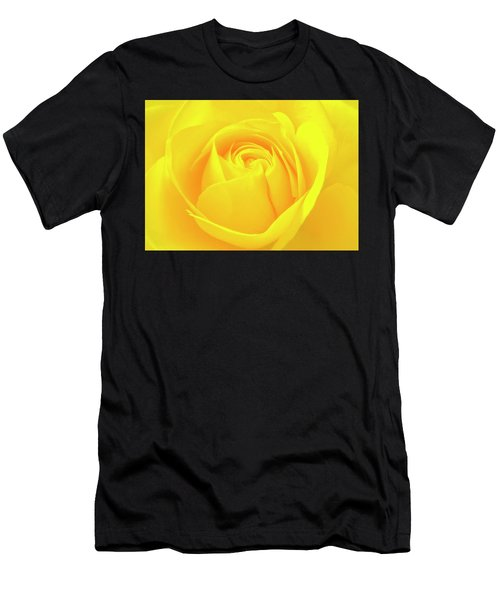 A Yellow Rose For Joy And Happiness Men's T-Shirt (Athletic Fit)
