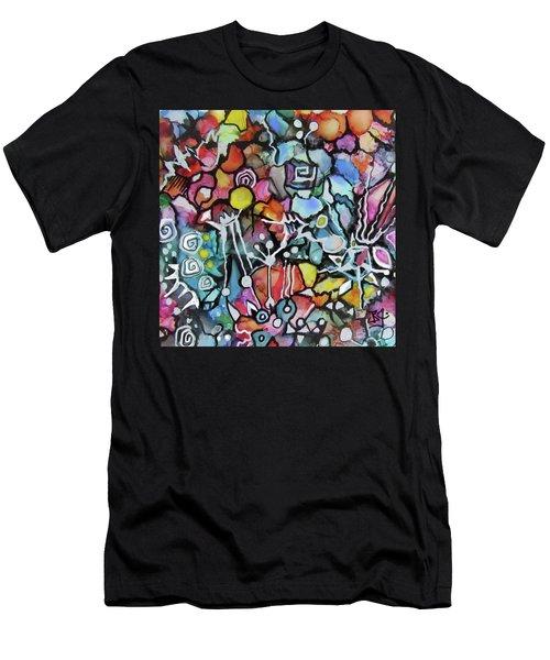 A Zentangle Dance Men's T-Shirt (Athletic Fit)