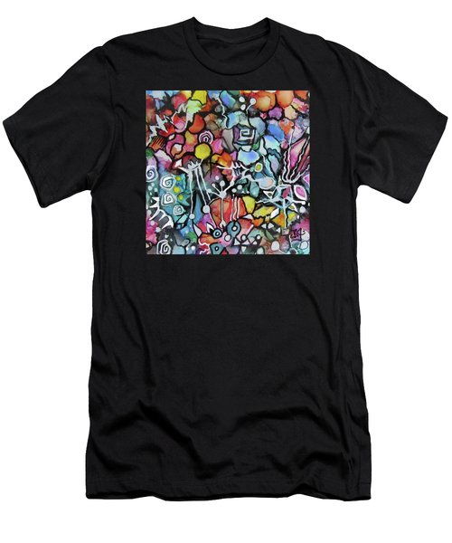 A Zentangle Dance Men's T-Shirt (Athletic Fit)