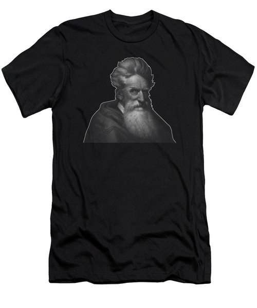 Abolitionist John Brown Graphic  Men's T-Shirt (Athletic Fit)