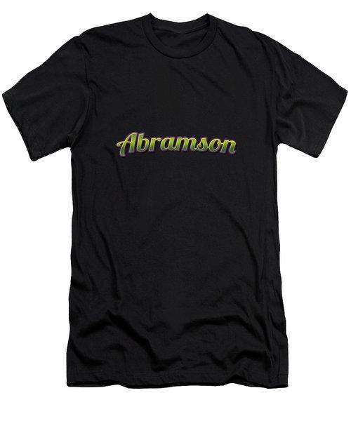 Abramson #abramson Men's T-Shirt (Athletic Fit)