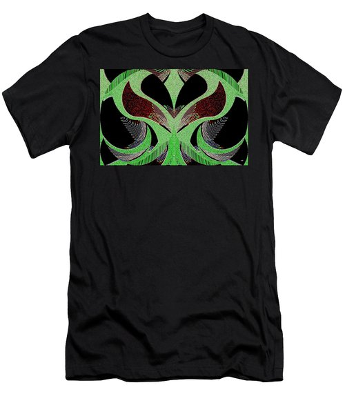 Abstract Decor 13 Men's T-Shirt (Athletic Fit)