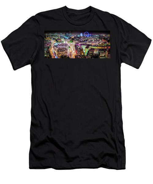 Men's T-Shirt (Athletic Fit) featuring the photograph Abstract London by Stewart Marsden