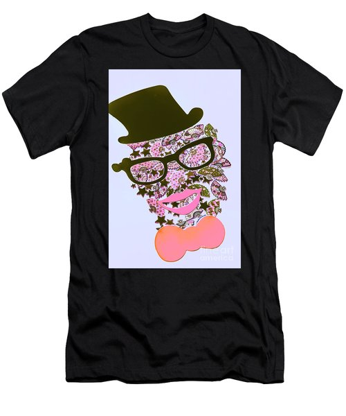 Actin Expressionism Men's T-Shirt (Athletic Fit)