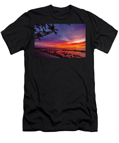 After Sunset Vibrance Men's T-Shirt (Athletic Fit)
