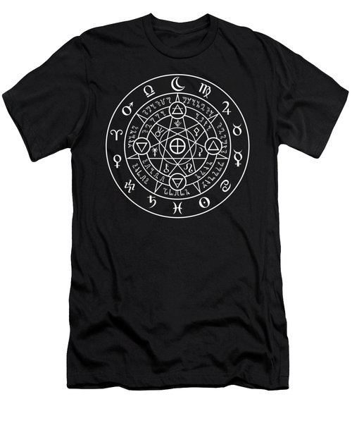 Alchemical Sigil Men's T-Shirt (Athletic Fit)