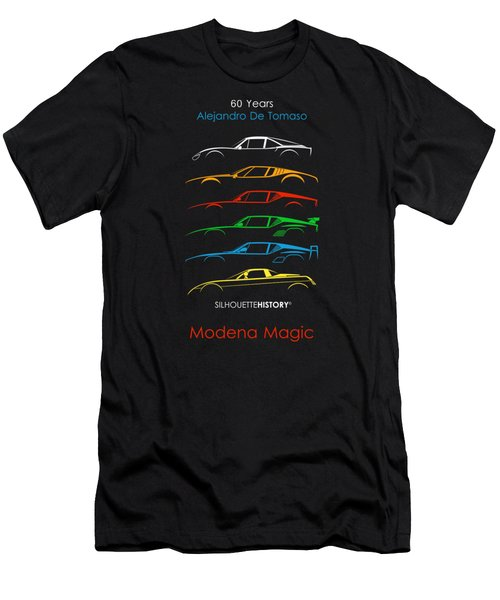 Alejandro's Sports Car 60 Silhouettehistory Men's T-Shirt (Athletic Fit)