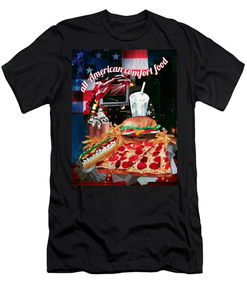 All American Comfort Food 2 Men's T-Shirt (Athletic Fit)