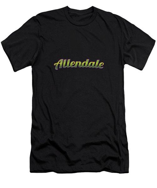 Allendale #allendale Men's T-Shirt (Athletic Fit)