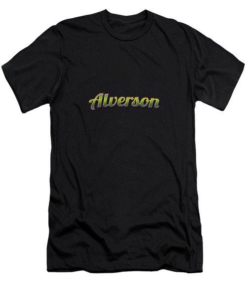Alverson #alverson Men's T-Shirt (Athletic Fit)
