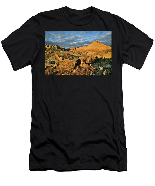 Amazing Clouds Over Ruby Mountain And Colorado National Monument Men's T-Shirt (Athletic Fit)