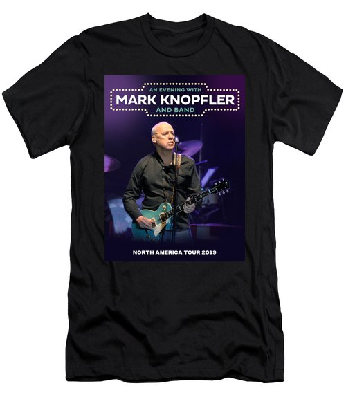 An Evening With Mark Knopfler Tour 2019 Hz01 Men's T-Shirt (Athletic Fit)
