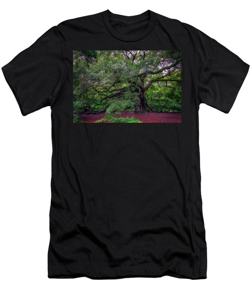 Men's T-Shirt (Athletic Fit) featuring the photograph Angel Oak Tree by Rick Berk
