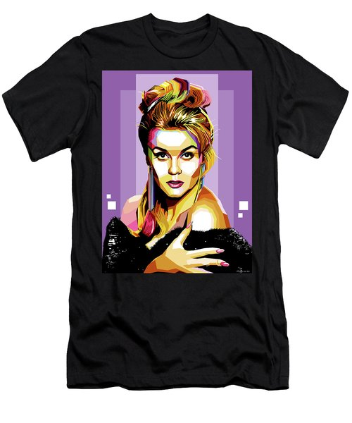 Ann-margret Men's T-Shirt (Athletic Fit)