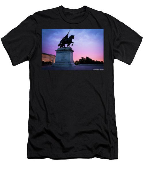 Apotheosis Of St. Louis, King Of France Men's T-Shirt (Athletic Fit)