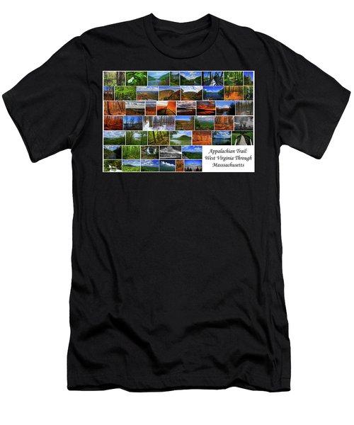 Men's T-Shirt (Athletic Fit) featuring the photograph Appalachian Trail West Virginia Through Massachusetts by Raymond Salani III