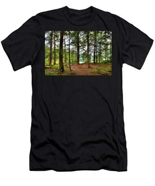 Men's T-Shirt (Athletic Fit) featuring the photograph Approaching Sis Lake by David Patterson